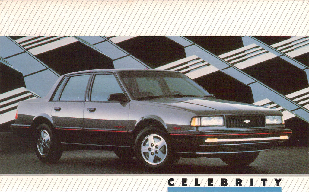 1989 Chevrolet Celebrity Eurosport 4 door sedan - a photo on ...