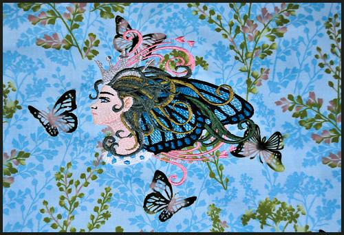 Blue Butterfly Queen