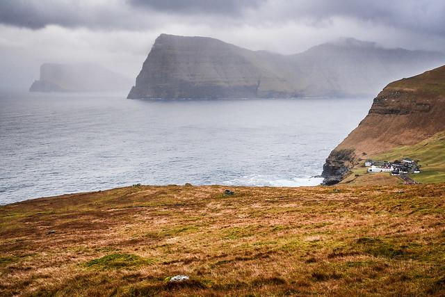 Trøllanes, Kalsoy, Faroe Islands.