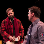 Bus Stop - Arvada Center 2017 - Geoffrey Kent (Will) and Josh Robinson (Carl) M. Gale Photography 2017