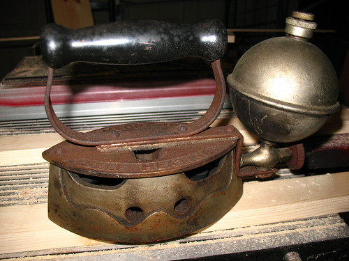 Old Steam Iron ~ Antique steam irons images frompo