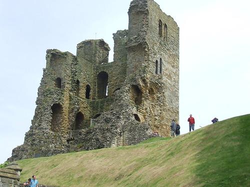 A view of Scarborough Castle.