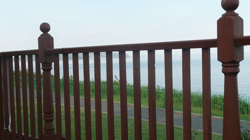 A fence overlooking the sea