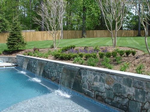 Backyard Landscaping With Pool : Backyard Swimming Pool Landscape  Flickr  Photo Sharing!