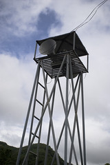 observation tower, wind, tower,