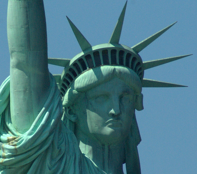 statue of liberty face flickr photo sharing