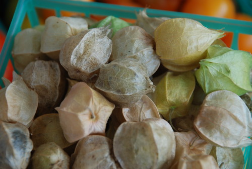husk cherries (ground cherries)