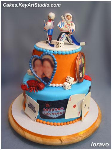 KeyArtStudio Family Fun Cake