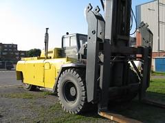 asphalt, vehicle, transport, forklift truck,