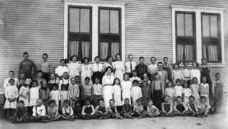 Image of Centralia School. california history historical southerncalifornia orangecounty orangecountyarchives orangecountyhistory