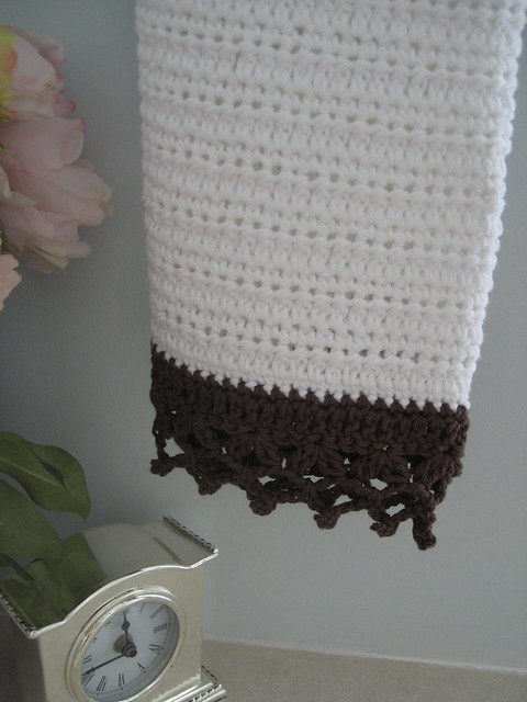 Crochet Patterns Free Hand Towels : Crochet Hand Towel Flickr - Photo Sharing!