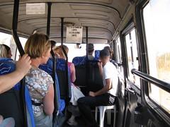 Autocarro para as ruinas de Efesu, Turquia