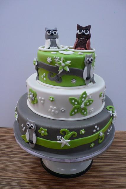 OWL Wedding Cake Flickr Photo Sharing