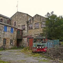 Derelict Mill at Walsden