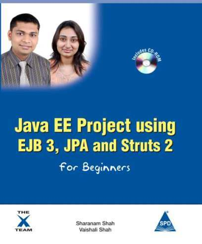 Java EE Project Using EJB 3, JPA And Struts 2 For Beginners