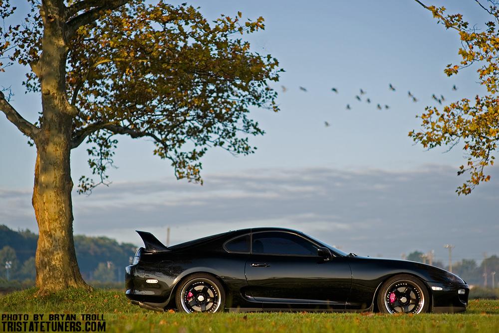 Black Supra Black Rims