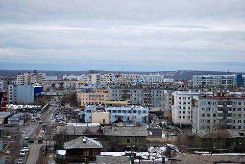 building construction apartment russia siberia fareast yakutsk yakutia republicofsakha