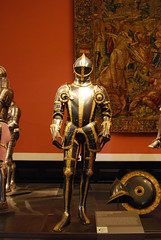 """Armour from the """"blue-gold set"""""""