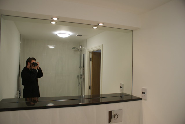 Bathroom full wall mirror flickr photo sharing for Full wall mirrors