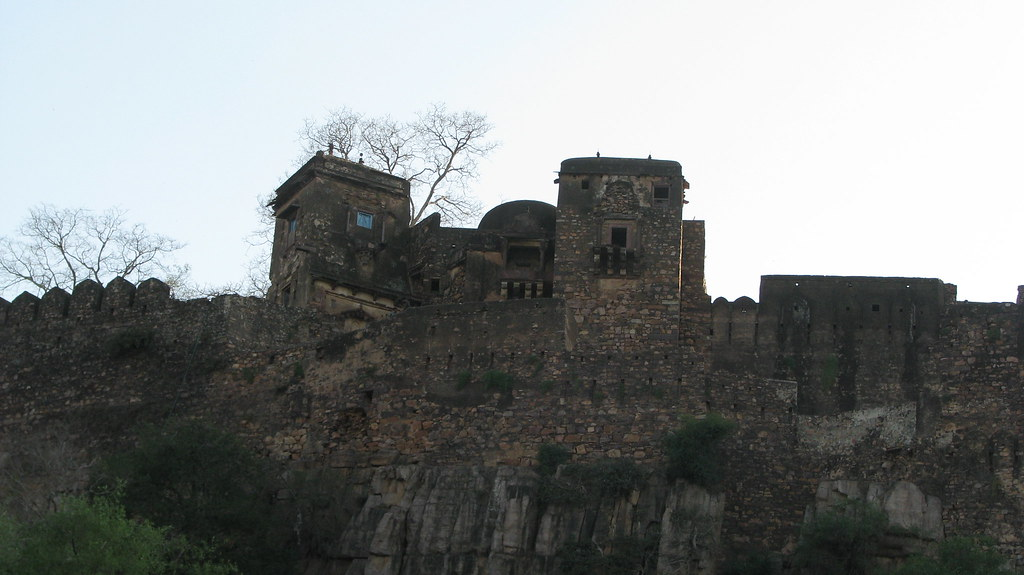 Ranthambore Fort during Rajasthan Trip