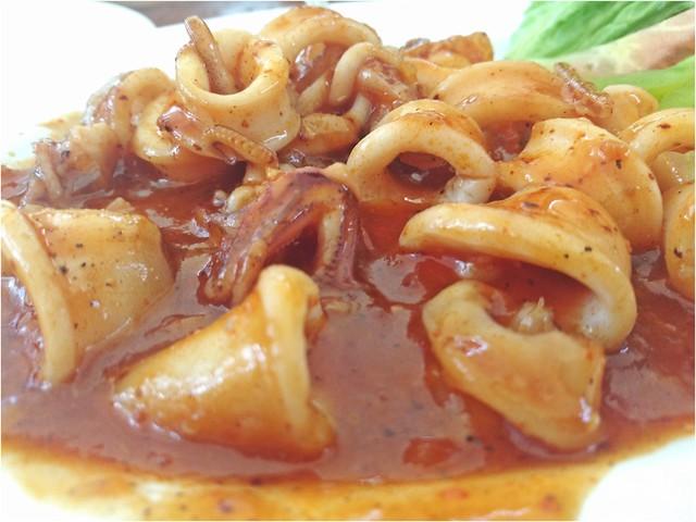 Cumi Saus Teppanyaki