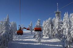 Skiareál Klínovec - krušnohorská lyžařská rozhledna