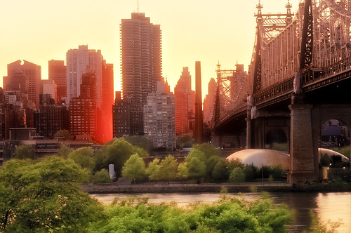 manhattanhenge & the 59th street bridge