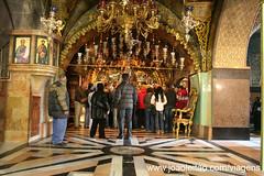 Fotos local onde Jesus foi crucificado em Jerusalem
