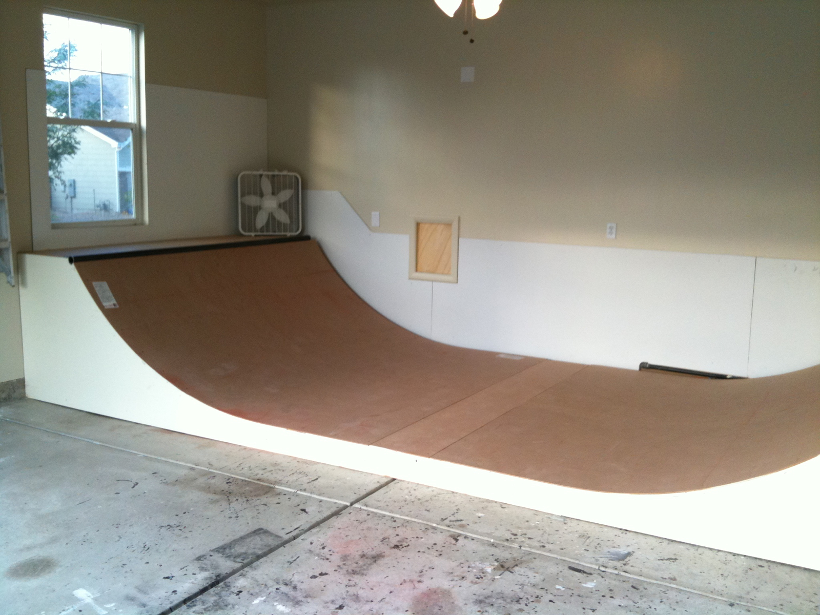 how to build a mini ramp for skateboarding