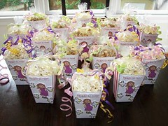 galleries baby shower popcorn boxes decorated flickr photo