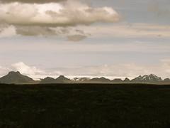 mountains near gullfoss