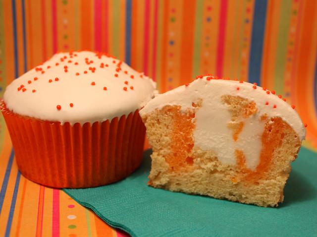 creamsicle cupcake | Flickr - Photo Sharing!