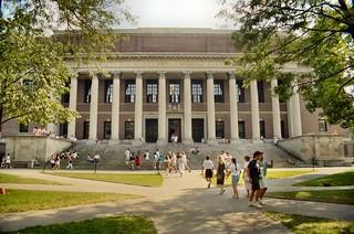 P_30 Cambridge - The Widener Library (1915) - Harvard University - Massachusetts