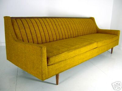 Vintage Yellow Couch Flickr Photo Sharing