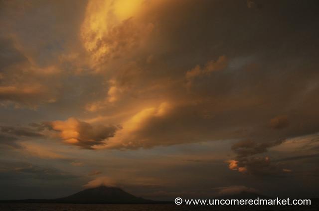 A Show of Clouds - Isla de Ometepe, Nicaragua