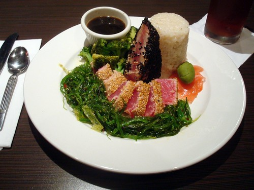 Seared Yellow Fin Tuna Fit For A MOTU (photo: svadilfari/flickr)