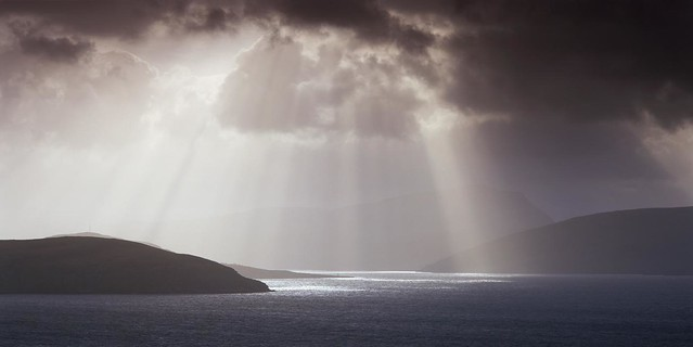 Passage of light, Loch Broom