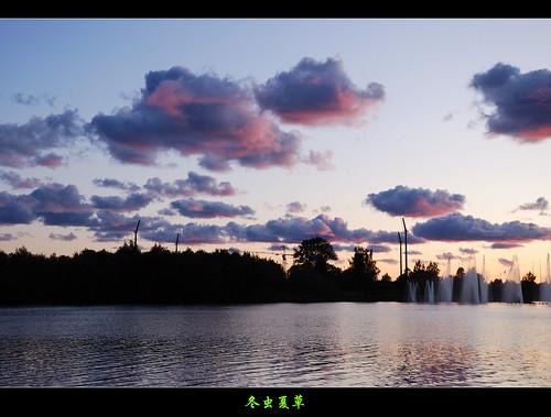 sunset finland nikon oulu 日落 尼康 d80 芬兰 奥卢