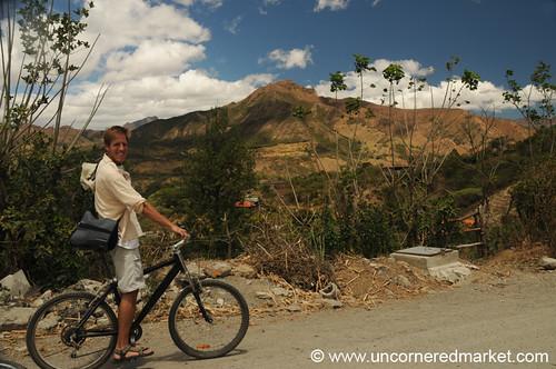 landscape ecuador bikes biking sanpedro aes vilcabamba