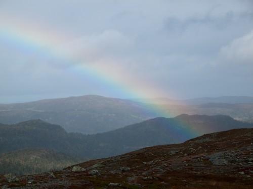 norway rainbow nesbyen kongeriketnorge vardefjell opplandfylke cannondalemoto1