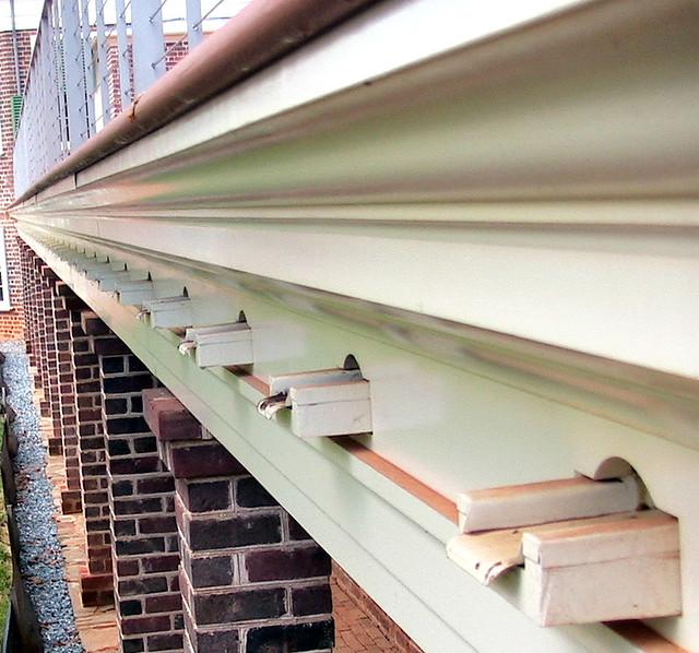 Flat Roof Gutter System Flickr Photo Sharing