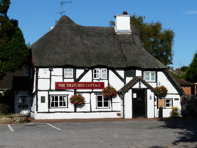 The thatched cottage farnborough the old thatched cottage flickr photo sharing - The thatched cottage ...