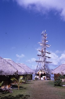 Regina Maris at the Oa Oa, Bora Bora.