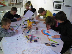 Big Draw Workshop 2 @ Ginger Moo Gallery