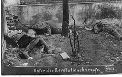 Photo from the Socialist Uprising, Berlin, 1919