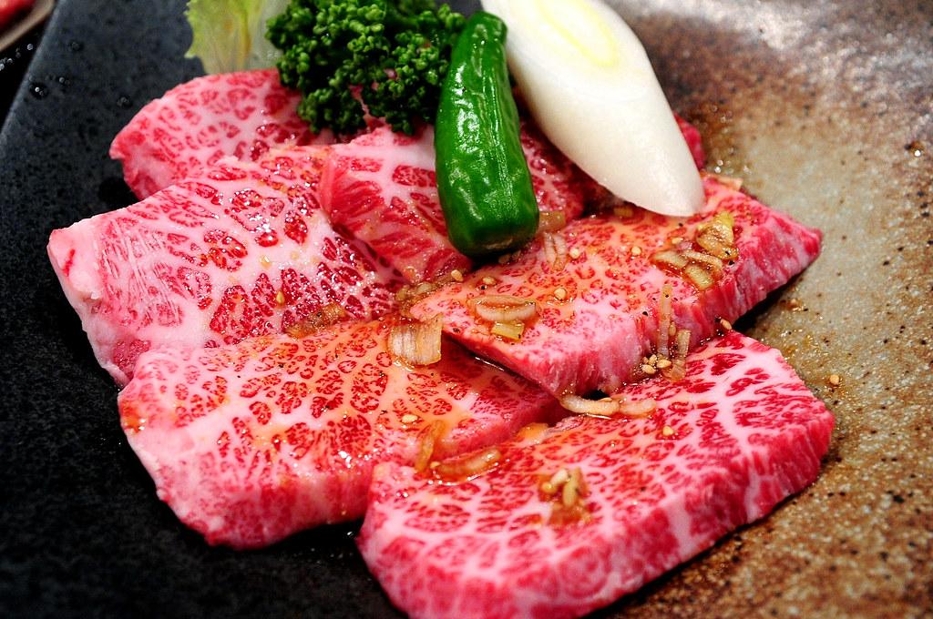 秘苑燒肉-特上牛五花 特上カルビ (2800)