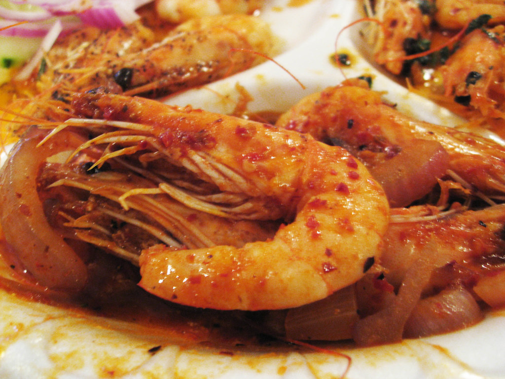 Seafood Feast at Mariscos Chente | Shrimp a la Diable (cooke… | Flickr