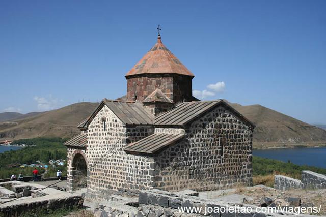 Fotografias do Mosteiro de Sevan na Arménia