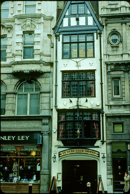 Cushman revisited very old london house fleet street for Classic house old street london
