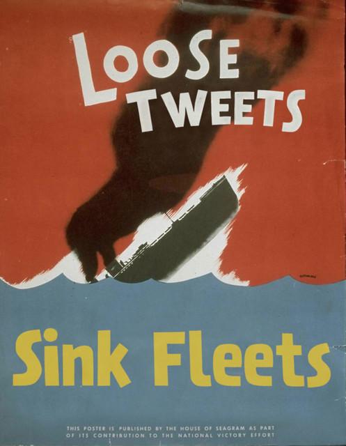 WWIII Propaganda: Loose Tweets Sink Fleets